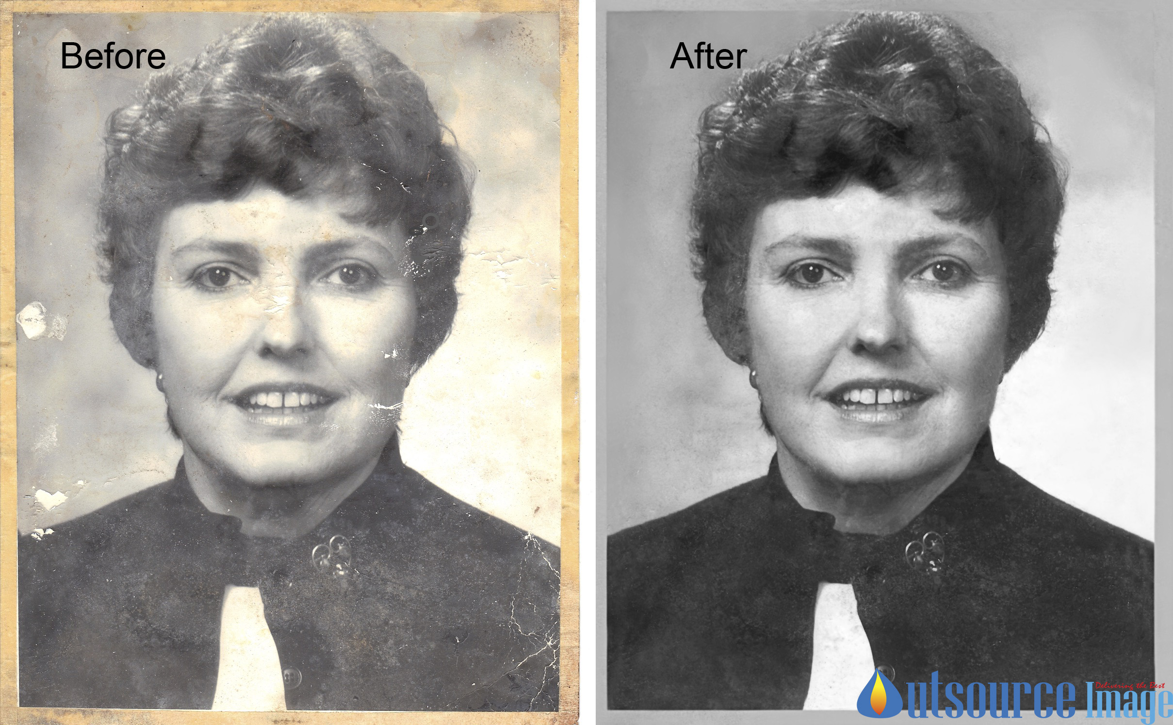 Photo Restoration Services – Restore Damaged Photos – Retouch Old Photos