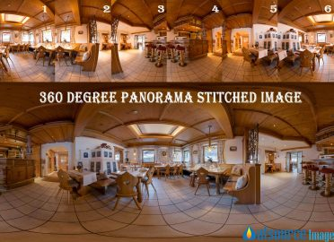 Panorama Photography Stitching – 360-Degree Architectural and Interior Panoramas