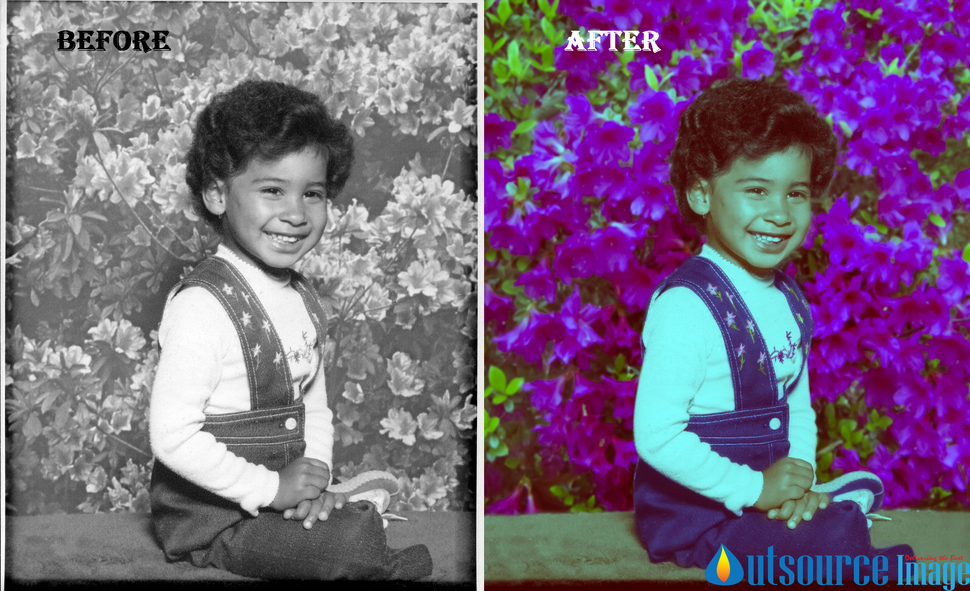 Restoration Services to Fix Missing Areas in Your Photos