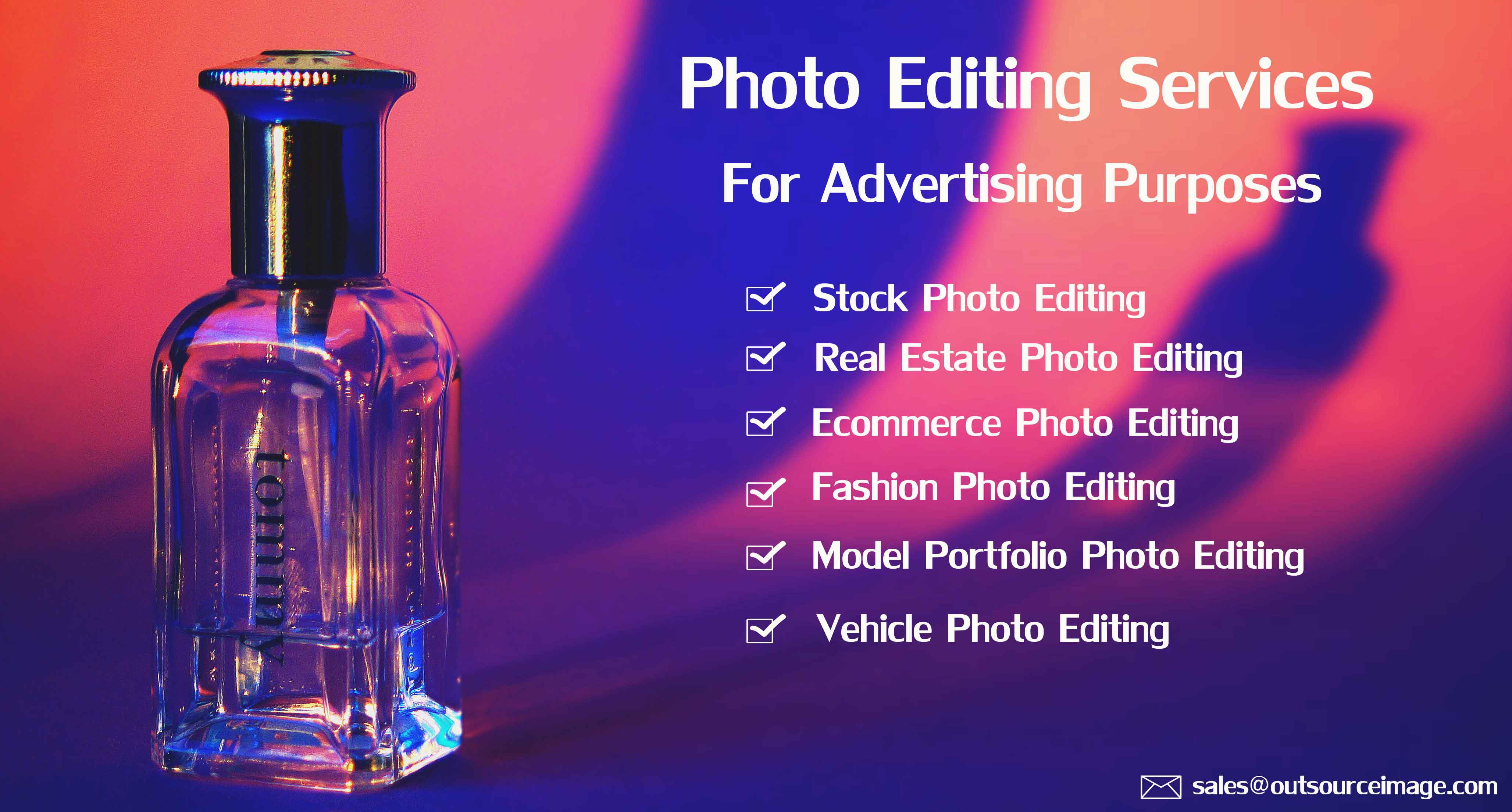 Advertising Photography Retouching Services | Advertising Photo Editing Services