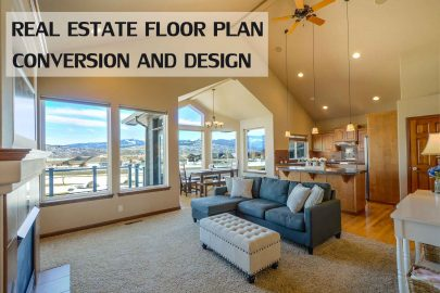 Floor Plan Conversion Services – Real Estate 2D and 3D Floor Plan Design Services