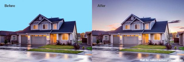Sky Change Services | Real Estate Photo Sky Change Services | Sky Replacement in Photoshop