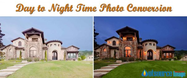 Day To Dusk Conversion Services – Convert daytime photos to twilight photos in Photoshop