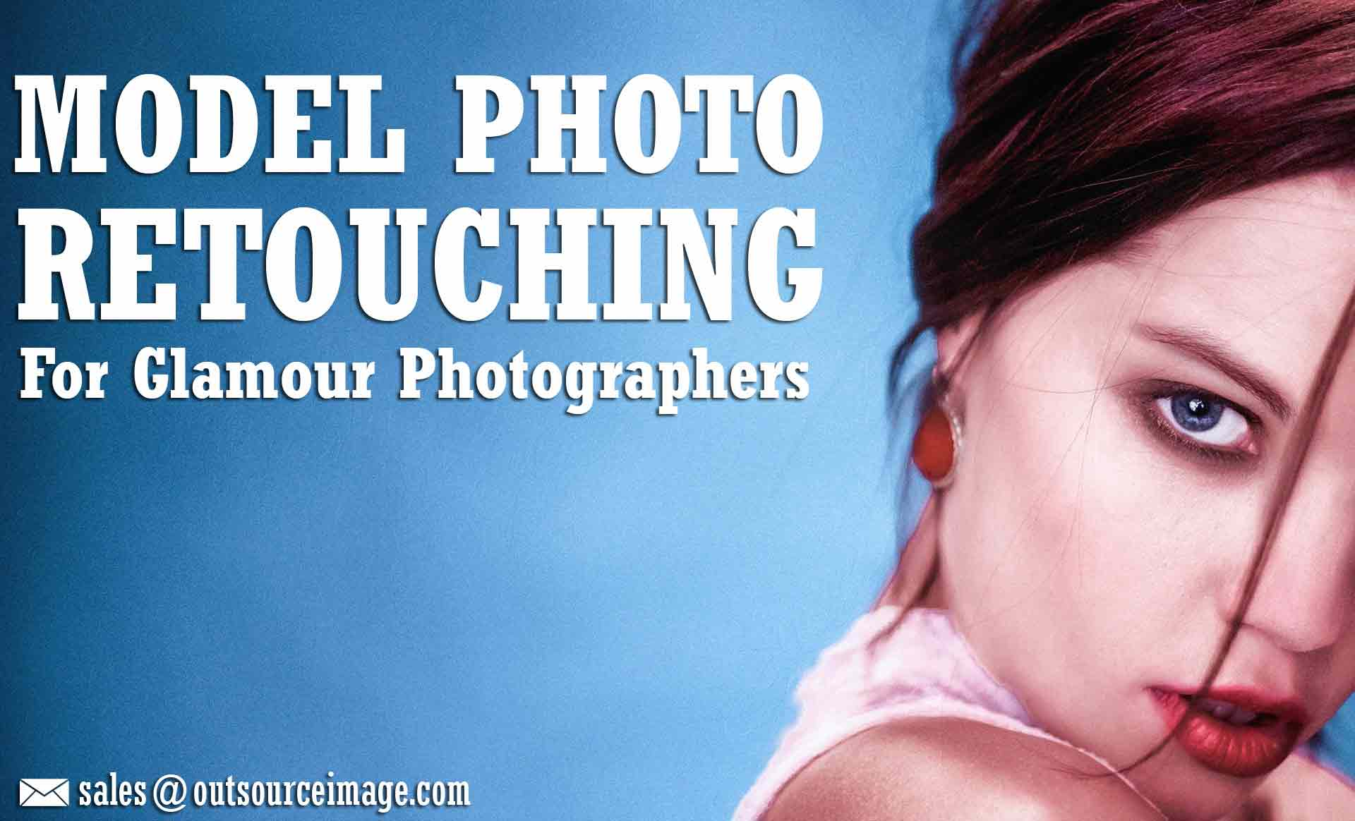 Model Photo Retouching Services | High-End Glamour Retouch Services