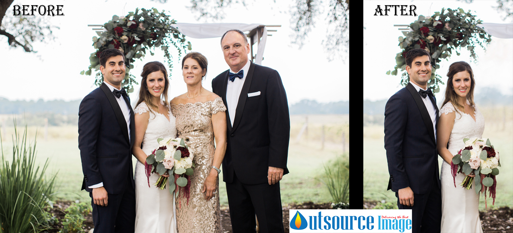 Image Editing Services for Wedding Photographer's in Europe Countries